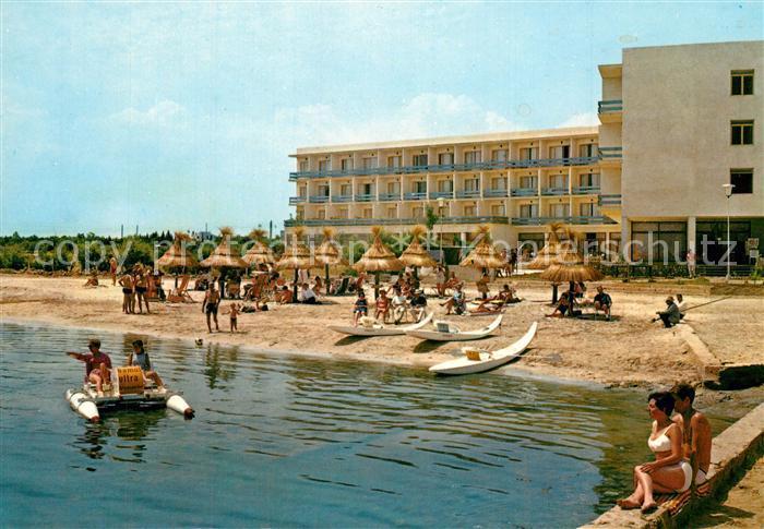 AK / Ansichtskarte Alcudia_Mallorca Hotel Panoramic Strand Alcudia Mallorca 0