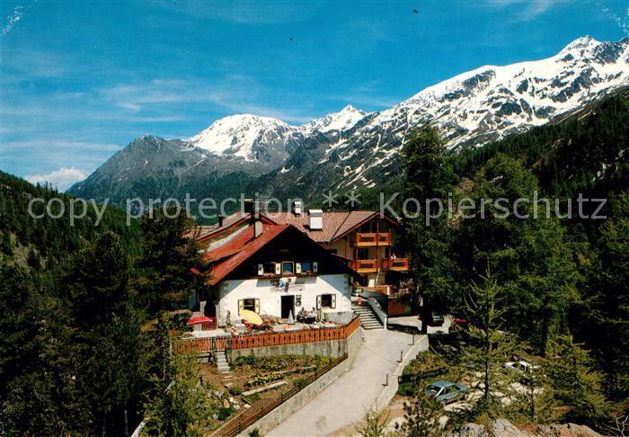 AK / Ansichtskarte Hintermartell Alpengasthof Enzian Ortlergebiet Hintermartell 0
