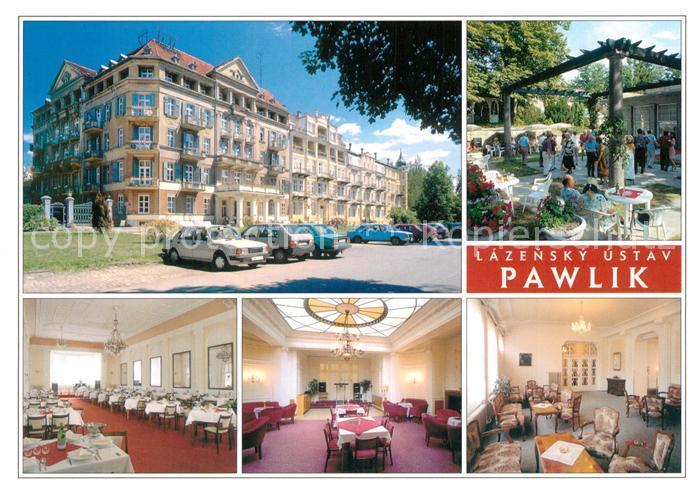 AK / Ansichtskarte Frantiskovy_Lazne Lazensky Ustav Pawlik Restaurant Frantiskovy_Lazne 0