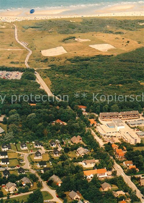 AK / Ansichtskarte Oostkapelle Duinweg Duingebiet Zee en Strand luchtopname Oostkapelle 0