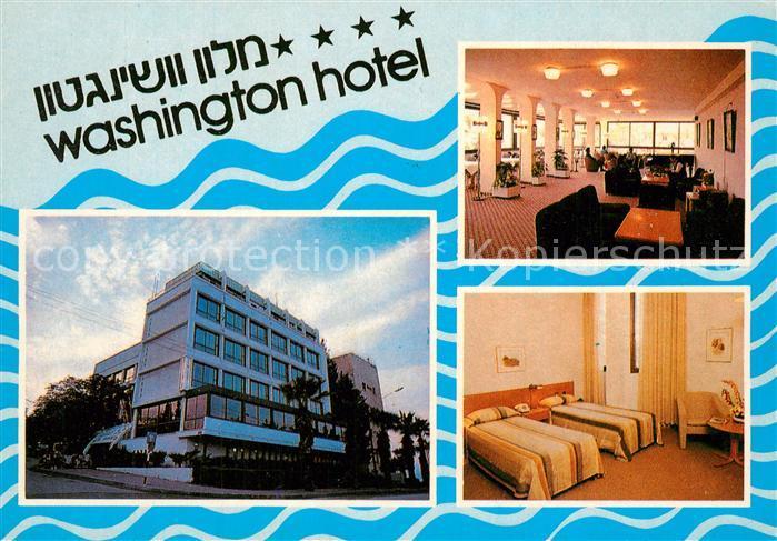 AK / Ansichtskarte Tiberias Washington Hotel Tiberias 0