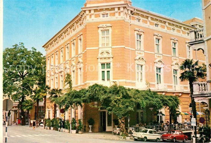 AK / Ansichtskarte Opatija_Istrien Hotel Continental Opatija_Istrien 0