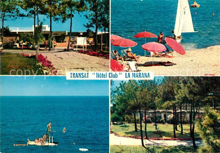 AK / Ansichtskarte Bastia Transat Hotel Club Plage Collection Charmes et Couleurs de la Corse Bastia 0