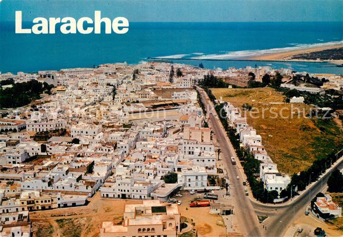 AK / Ansichtskarte Larache Avenue Mohammed V vue aerienne Larache 0