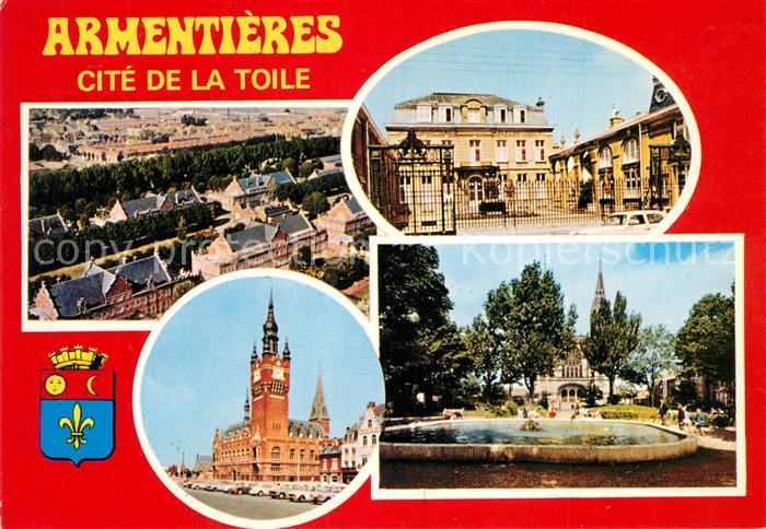 AK / Ansichtskarte Armentieres Cite de la toile vues d ensemble Armentieres