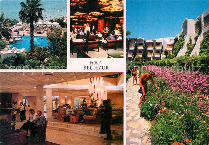 AK / Ansichtskarte Hammamet Hotel Bel Azur Swimming Pool Foyer Blumen Hammamet 0