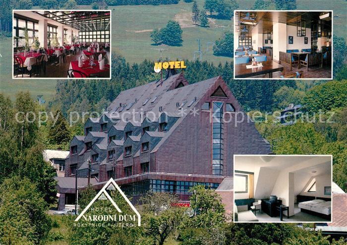 AK / Ansichtskarte Rokytnice_nad_Jizerou Hotel Narodni dum Rokytnice_nad_Jizerou 0