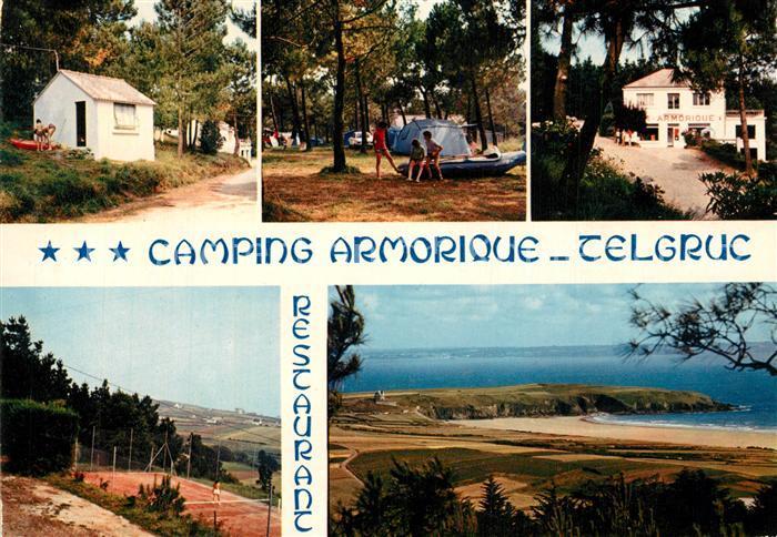 AK / Ansichtskarte Telgruc sur Mer Camping Armorique Tennis Bungalows Panorama Telgruc sur Mer 0