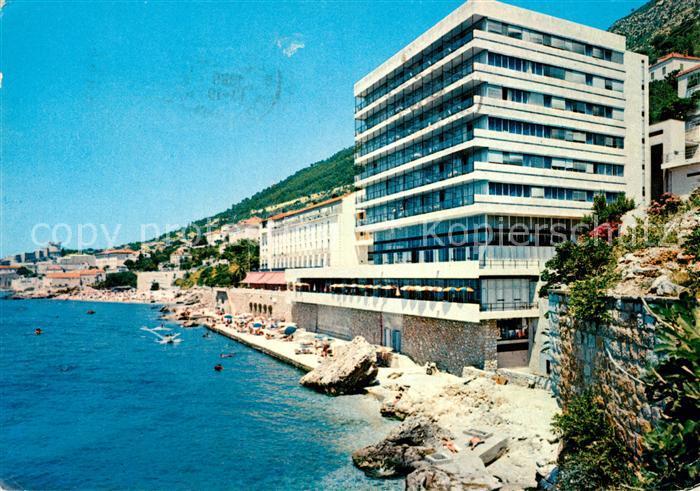 AK / Ansichtskarte Dubrovnik_Ragusa Hotel Excelsior Strand Dubrovnik Ragusa 0