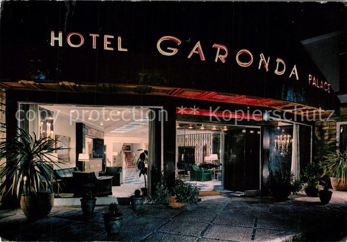 AK / Ansichtskarte Palma_de_Mallorca Hotel Garonda Palace Nachtaufnahme Palma_de_Mallorca 0