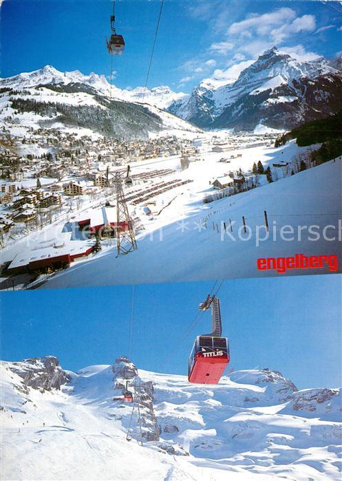 AK / Ansichtskarte Engelberg_OW Bergbahnen Wintersportplatz Alpen Engelberg OW 0