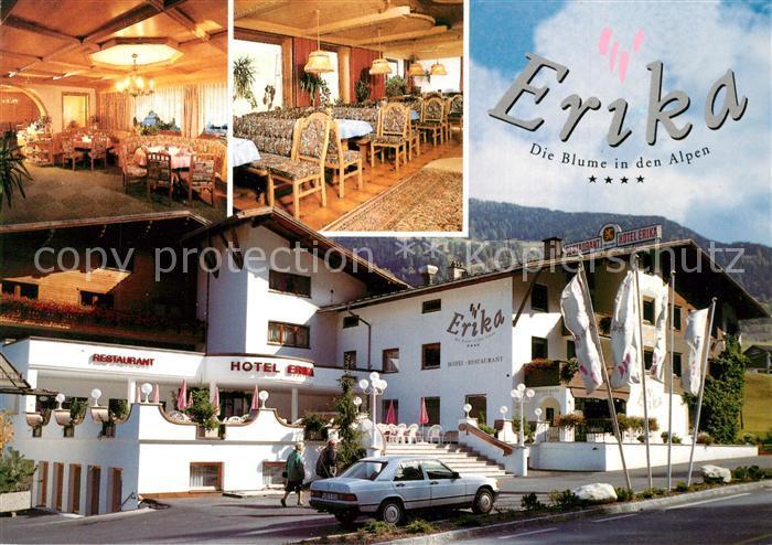 AK / Ansichtskarte Nauders_Tirol Hotel Restaurant Erika Nauders Tirol 0