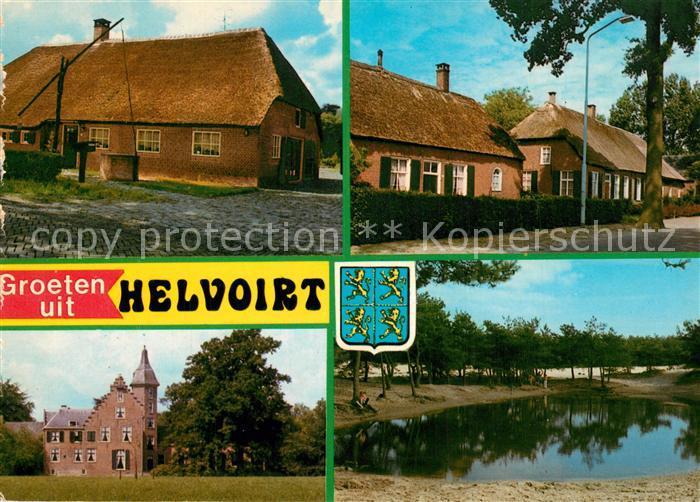 AK / Ansichtskarte Helvoirt Ortsmotive alter Brunnen Teich Helvoirt 0