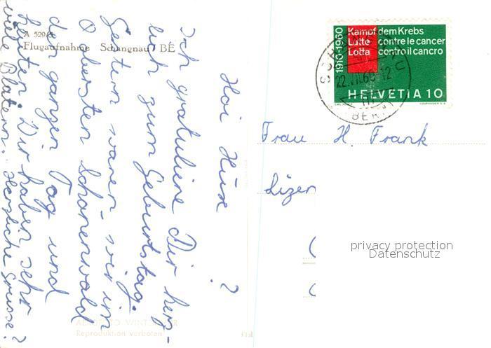 AK / Ansichtskarte Schangnau Fliegeraufnahme Schangnau 1