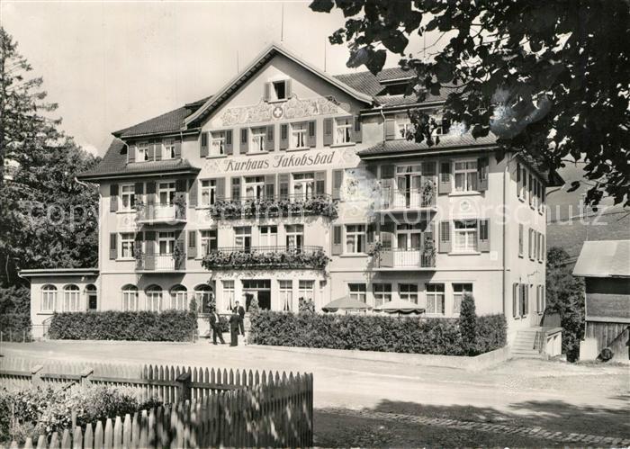 AK / Ansichtskarte Jakobsbad Kurhaus  Jakobsbad 0