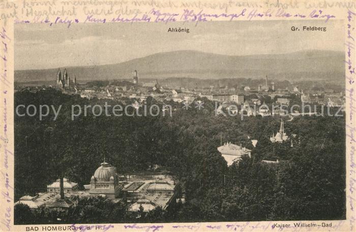 AK / Ansichtskarte Altkoenig Panorama Grosser Feldberg Altkoenig 0