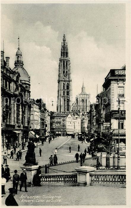 AK / Ansichtskarte Antwerpen_Anvers Canal au Sucre  Antwerpen Anvers 0