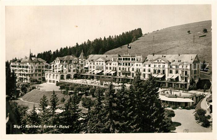 AK / Ansichtskarte Rigi_Kaltbad Grand Hotel Rigi_Kaltbad 0