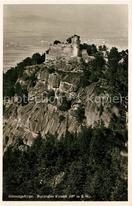 AK / Ansichtskarte Kynast Burgruine  0