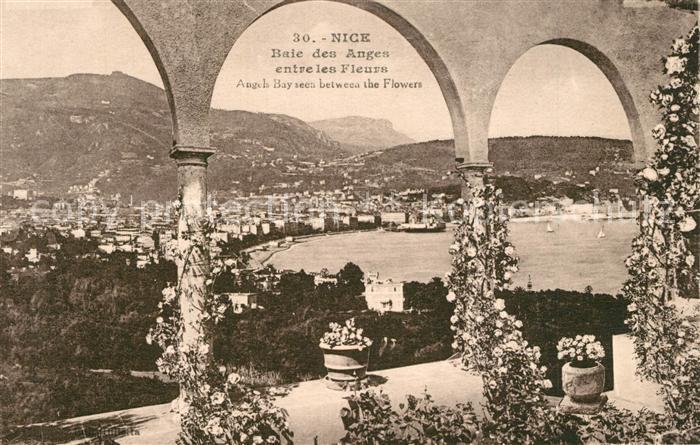 AK / Ansichtskarte Nice_Alpes_Maritimes Panorama Baie des Anges Nice_Alpes_Maritimes 0