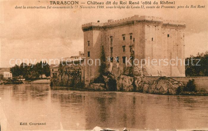 AK / Ansichtskarte Tarascon_Bouches du Rhone Chateau Roi Rene Tarascon Bouches du Rhone 0