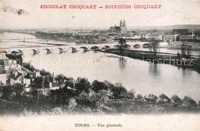AK / Ansichtskarte Tours_Indre et Loire Panorama Tours Indre et Loire 0