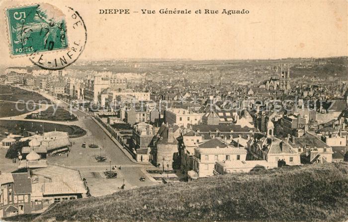 AK / Ansichtskarte Dieppe_Seine Maritime Panorama Rue Aguado Dieppe Seine Maritime 0