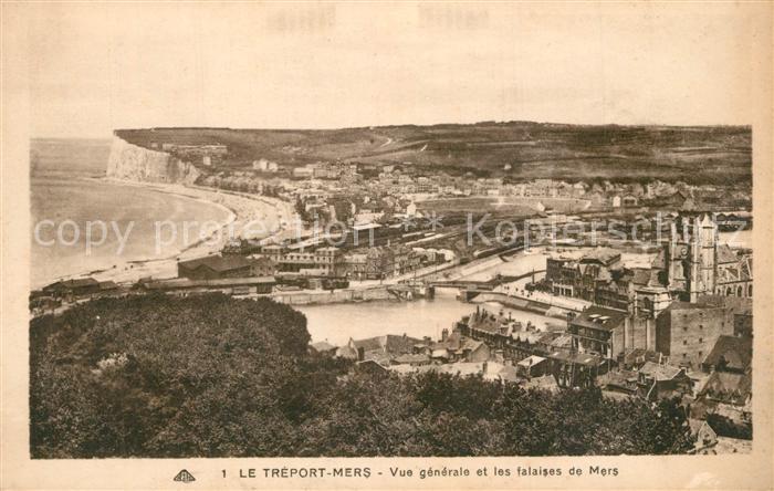 AK / Ansichtskarte Le_Treport_Mers Panorama  0