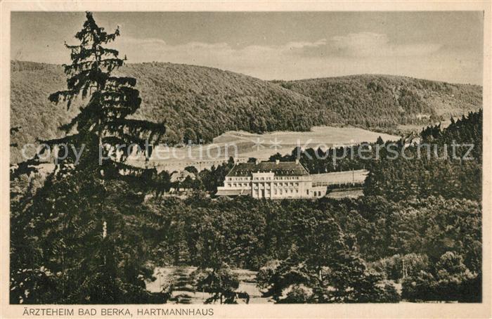 AK / Ansichtskarte Bad_Berka aerzteheim Hartmannhaus Bad_Berka 0