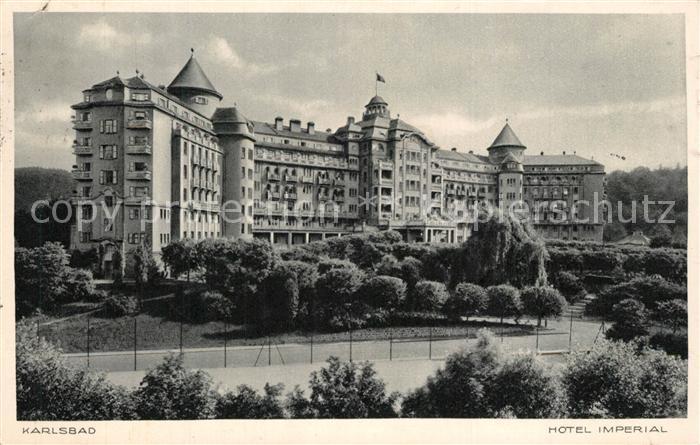 AK / Ansichtskarte Karlsbad_Eger Hotel Imperial Karlsbad_Eger 0