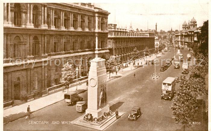 AK / Ansichtskarte London Cenotaph Whitehall London 0