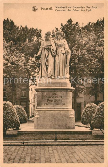 AK / Ansichtskarte Maaseik Monument Bruder van Eyck Maaseik 0
