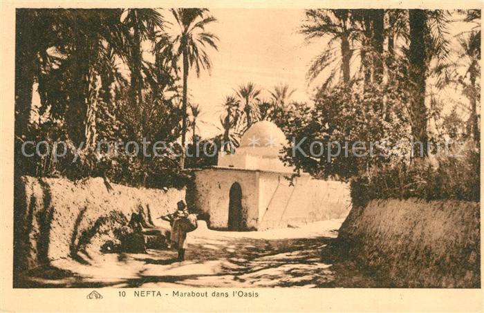 AK / Ansichtskarte Nefta Marabout dans Oasis Nefta