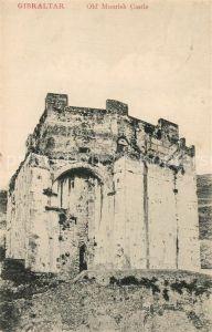 AK / Ansichtskarte Gibraltar Old Moorish Castle Gibraltar
