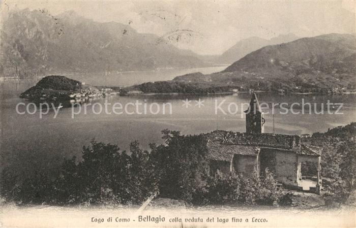 AK / Ansichtskarte Bellaggio Lago Panorama  Bellaggio Lago 0