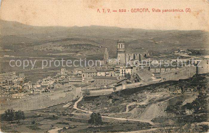 AK / Ansichtskarte Gerona Panorama Gerona 0