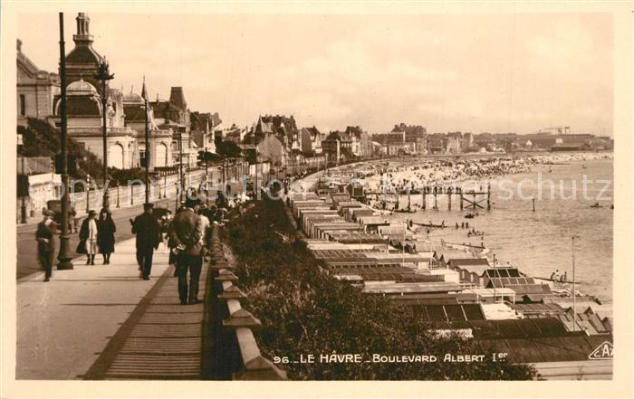 AK / Ansichtskarte Le_Havre Boulevard Albert Le_Havre 0