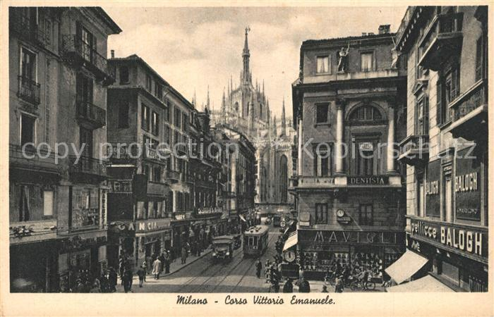 AK / Ansichtskarte Milano_Marittima Corso Vittorio Emanuele Milano_Marittima 0