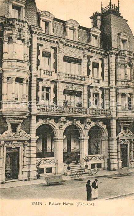 AK / Ansichtskarte Irun Palace Hotel Irun 0