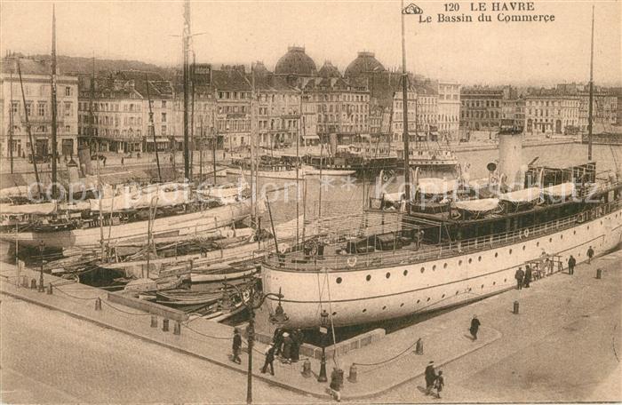AK / Ansichtskarte Le_Havre Bassin du Commerce Le_Havre 0