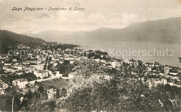 AK / Ansichtskarte Luino_Lago Maggiore Panorama Luino_Lago Maggiore 0
