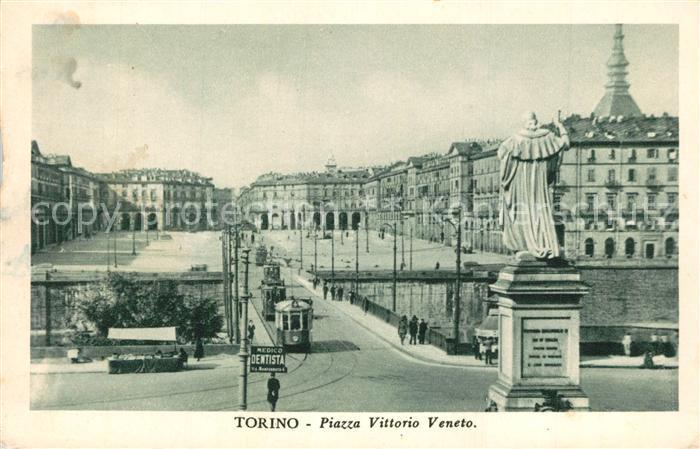 AK / Ansichtskarte Torino Piazza Vittorio Veneto Torino 0