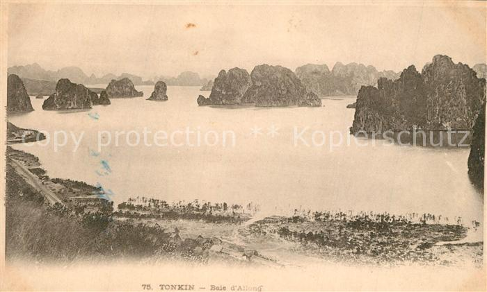 AK / Ansichtskarte Tonkin Baie d Allong Tonkin 0