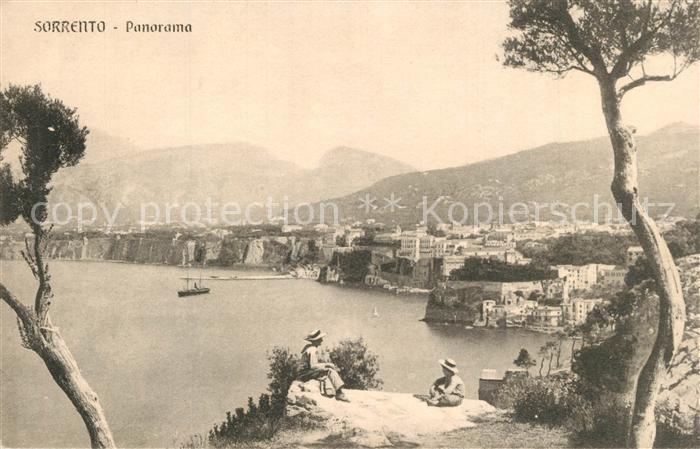 AK / Ansichtskarte Sorrento_Campania Panorama Sorrento Campania 0