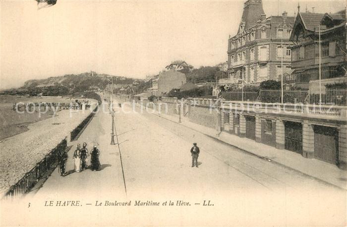 AK / Ansichtskarte Le_Havre Boulevard Maritime Heve Le_Havre 0