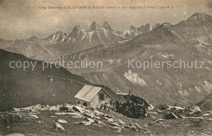 AK / Ansichtskarte Allevard_les_Bains_Isere Les Aiguilles d Arves Allevard_les_Bains_Isere 0