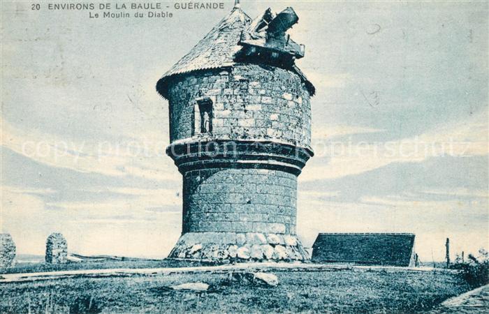 AK / Ansichtskarte La_Baule_Atlantique Guerande Moulin du Diable La_Baule_Atlantique 0