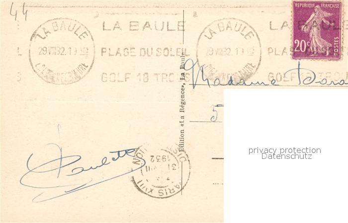 AK / Ansichtskarte La_Baule_Atlantique Guerande Moulin du Diable La_Baule_Atlantique 1