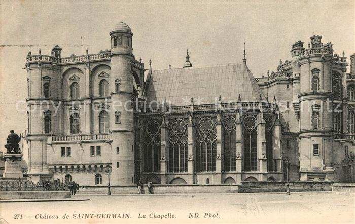 AK / Ansichtskarte Dordogne Chateau Saint Germain Chapelle Dordogne 0