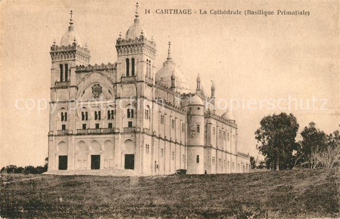 AK / Ansichtskarte Carthage_Karthago Cathedrale Basilique Primatiale Carthage Karthago 0